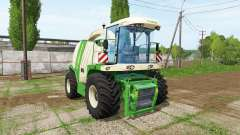 Krone BiG X 1100 special pour Farming Simulator 2017