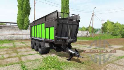 JOSKIN DRAKKAR 8600 black and green pour Farming Simulator 2017