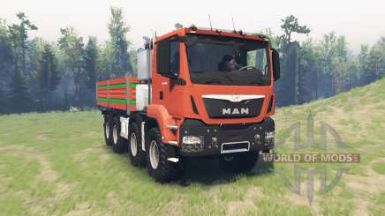MAN TGS 41.480 v1.1 pour Spin Tires
