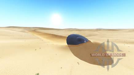 Ghosts desert v2.0.2 pour BeamNG Drive