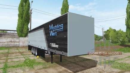 Schmitz Cargobull Modding Welt v1.2 für Farming Simulator 2017