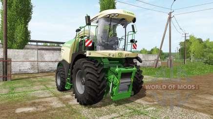Krone BiG X 580 dynamic hoses für Farming Simulator 2017