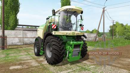 Krone BiG X 580 dynamic hoses pour Farming Simulator 2017