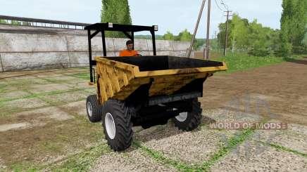 Sambron mini dumper pour Farming Simulator 2017