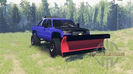 Chevrolet Silverado 2006 v2.1 pour Spin Tires