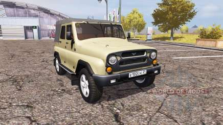 UAZ Hunter (315195-130) pour Farming Simulator 2013