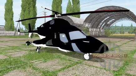 Bell-222 Airwolf für Farming Simulator 2017