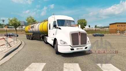 American truck traffic pack v1.3.2 pour Euro Truck Simulator 2