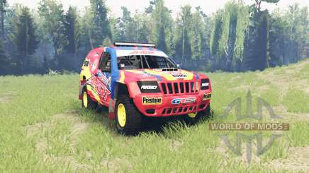 Jeep Grand Cherokee (WJ) Superwolf v1.01 pour Spin Tires