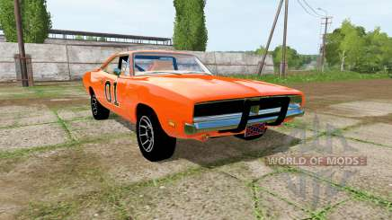 Dodge Charger RT (XS29) 1970 General Lee pour Farming Simulator 2017