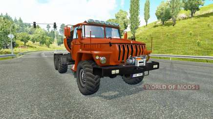 Oural 43202 v3.5 pour Euro Truck Simulator 2