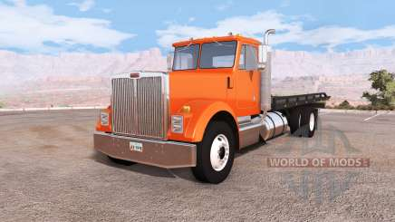 Gavril T-Series rollback flatbed tow truck für BeamNG Drive