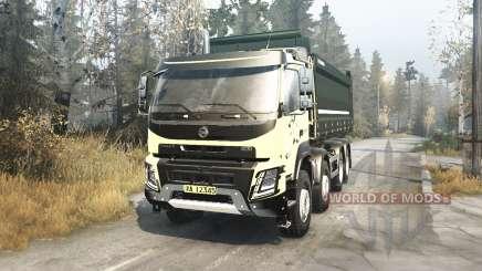 Volvo FMX 2014 v2.1 für MudRunner