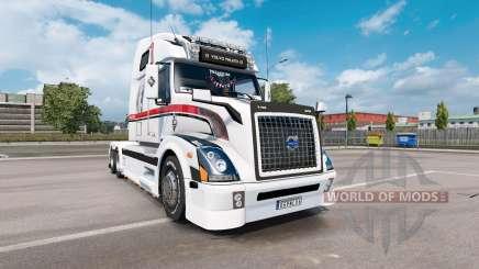 Volvo VNL 670 v1.5 pour Euro Truck Simulator 2