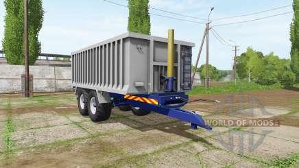 Aluminum trailer für Farming Simulator 2017