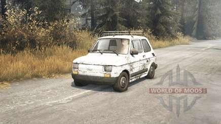 Fiat 126p v1.1 pour Spin Tires