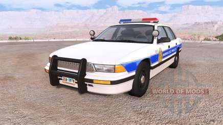 Gavril Grand Marshall honolulu police für BeamNG Drive
