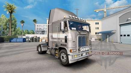 Скин de Première classe métallique на Freightliner FLAG pour American Truck Simulator