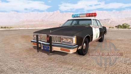 Oldsmobile Delta 88 cop pack v1.5.1 pour BeamNG Drive