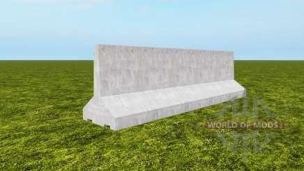 Barrier sections für Farming Simulator 2017