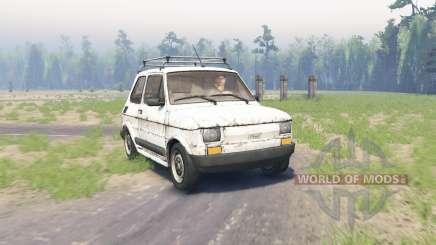 Fiat 126p für Spin Tires