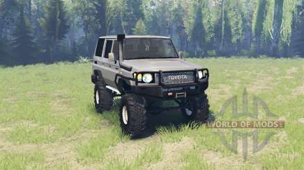 Toyota Land Cruiser 70 v3.01 pour Spin Tires