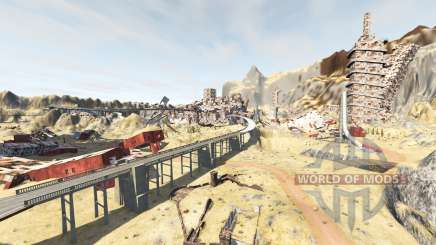Wasteland v1.2 pour BeamNG Drive