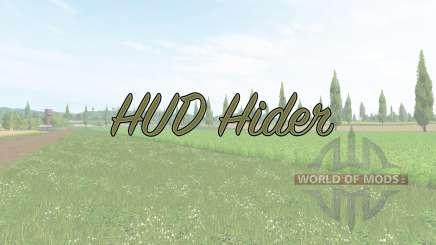 HUD Hider v1.15 pour Farming Simulator 2017