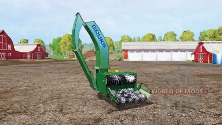 BRUKS wood crusher v1.1 pour Farming Simulator 2015
