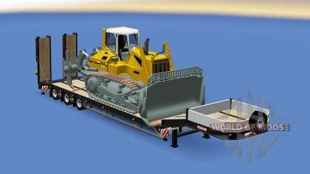 Semitrailer Liebherr PR 764 für Euro Truck Simulator 2