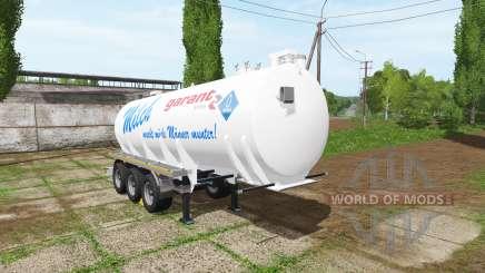 Kotte Garant TSA milk für Farming Simulator 2017