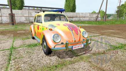 Volkswagen Beetle 1966 peace and love pour Farming Simulator 2017