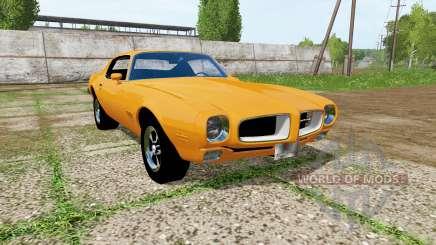 Pontiac Firebird 1970 pour Farming Simulator 2017