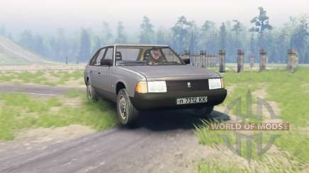 Moskwitsch 2141 für Spin Tires
