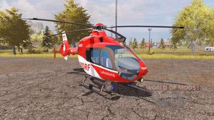 Eurocopter EC135 T2 DRF v2.0 für Farming Simulator 2013