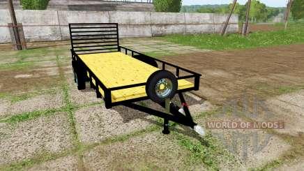 Platform trailer für Farming Simulator 2017