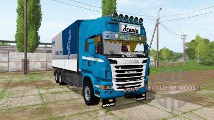 Scania R730 tandem v1.2 für Farming Simulator 2017