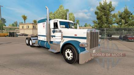 Скин Oncle D de la Logistique de la v1.1 на Peterbilt 389 pour American Truck Simulator