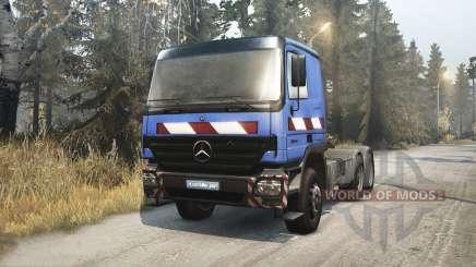 Mercedes-Benz Actros 2646 pour Spin Tires