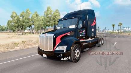 La peau de M. et.De Camionnage sur le camion Peterbilt 579 pour American Truck Simulator