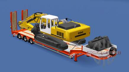 Semitrailer Liebherr R 934 v1.1 pour Euro Truck Simulator 2