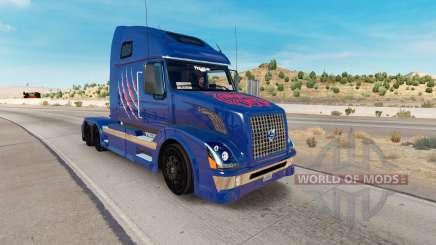 Arizona Wildcats de la peau pour les camions Volvo VNL 670 pour American Truck Simulator