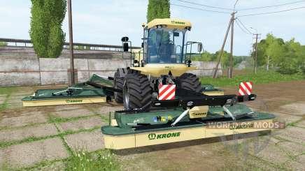 Krone BiG M 500 v3.1 pour Farming Simulator 2017