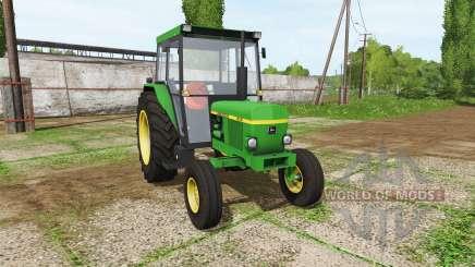 John Deere 1630 pour Farming Simulator 2017