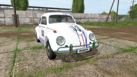 Volkswagen Beetle 1966 v2.0 pour Farming Simulator 2017