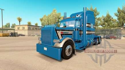 La peau GP 3 Personnalisé Peterbilt 389 tracteur pour American Truck Simulator
