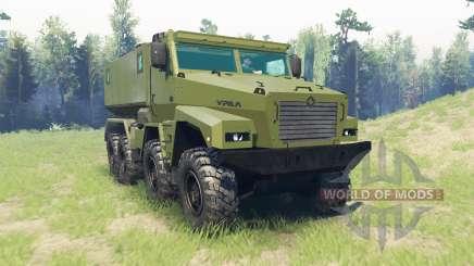 Ural Alligator für Spin Tires