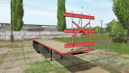 Bale semitrailer für Farming Simulator 2017