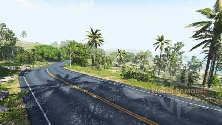 Dry rock island für BeamNG Drive