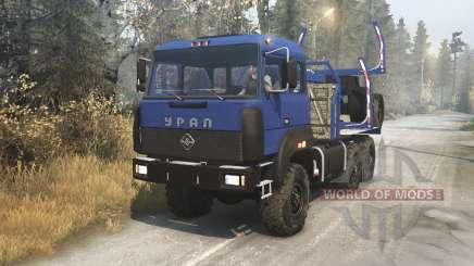 Ural 4320-3111-78 v1.3 für Spin Tires
